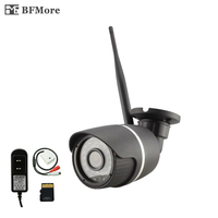 BFMore Wireless TF Card Audio Wifi IP Camera 720 960 1080P Sony Security P2P Onvif Outdoor