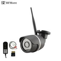 BFMore Wireless TF Card Audio Wifi IP Camera 720 960 1080P Sony Security P2P Onvif Outdoor