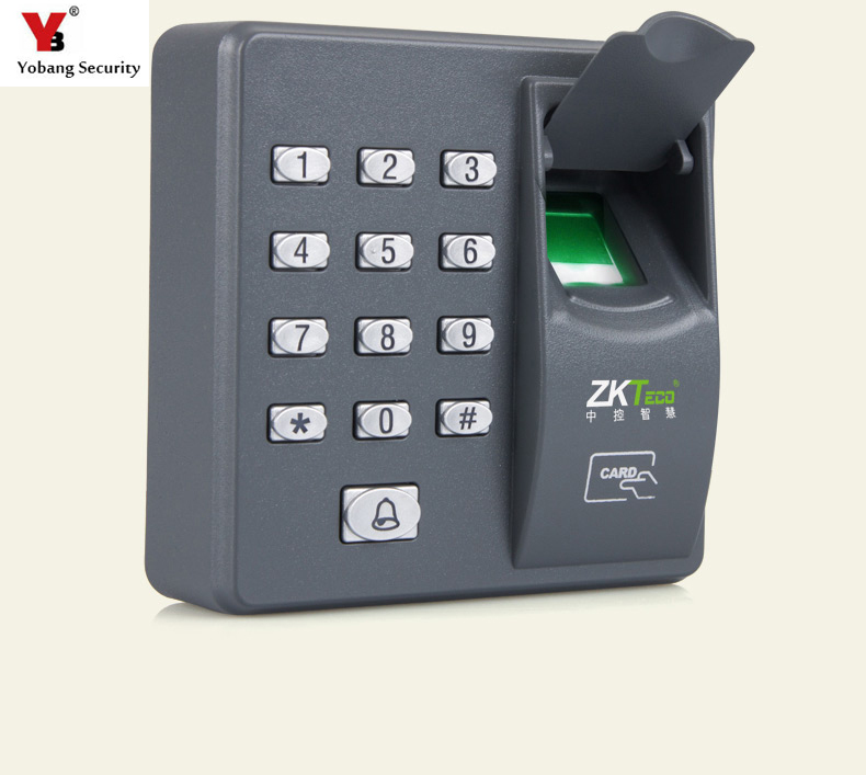 Yobang Security RFID Waterproof Touch Metal Keypad Biometric Fingerprint Access Control Machine Digital Electric For Door Lock