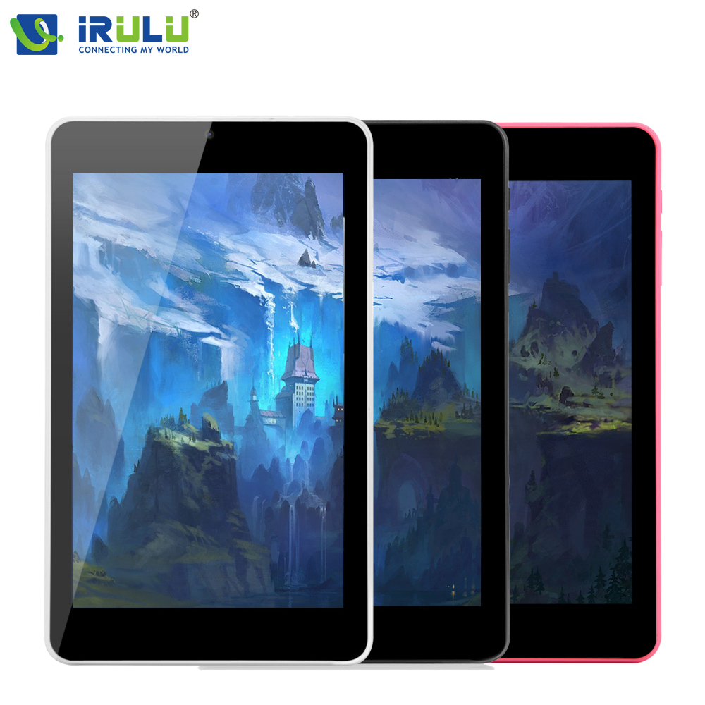 Original iRULU eXpro X4 7'' Android 5.1 1280*800 IPS Tablet PC Quad Core Dual Cam Tablet 1G RAM 16G ROM Bluetooth Wifi 4000mAh