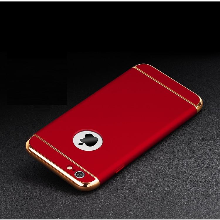 JAMULAR Hard Case Untuk iphone 7 6 6 S 5 S SE X 10 8 Ditambah Penutup - Aksesori dan suku cadang ponsel - Foto 6