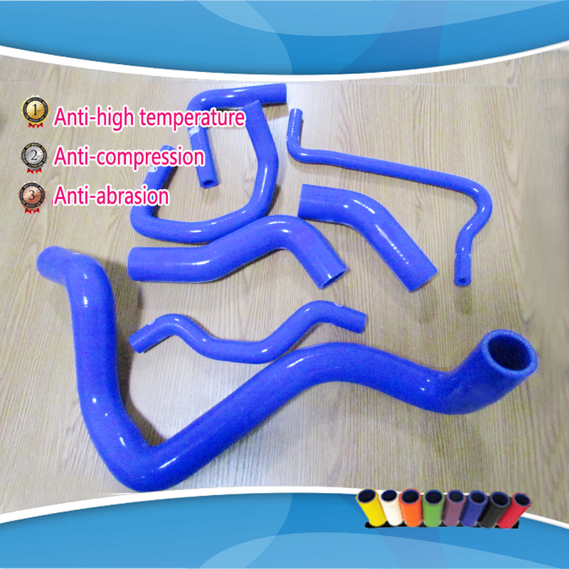 7 pieces For VW MK4 GOLF / BORA  / Jetta 1.8t AUM AUQ  silicone radiator coolant intercooler turbo hose kits plastic coolant water pipe for vw golf 4 bora a3 octavia leon toledo 06a 122 481 06a122481