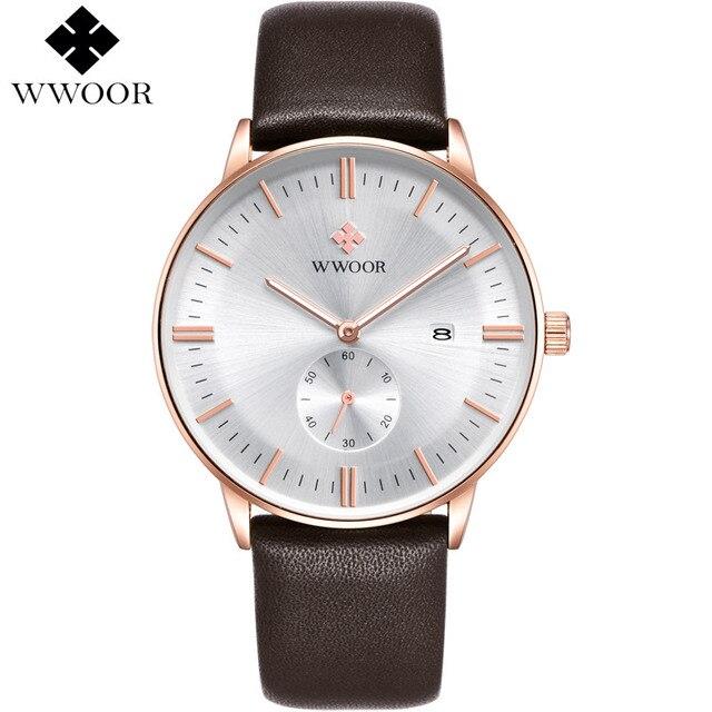 34423626725 Trabalho Sub-dial Couro dos homens Relógios Top Marca de Luxo Casual Relógio  de Pulso