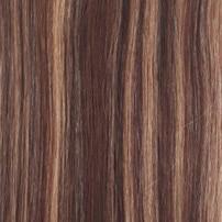 """ShowCoco, человеческие волосы для наращивания на заколках, объемная волна, 7 шт. в наборе, двойные пряди, корейские волосы для наращивания на заколках, 1""""-24"""" - Цвет: Color P4-8"""