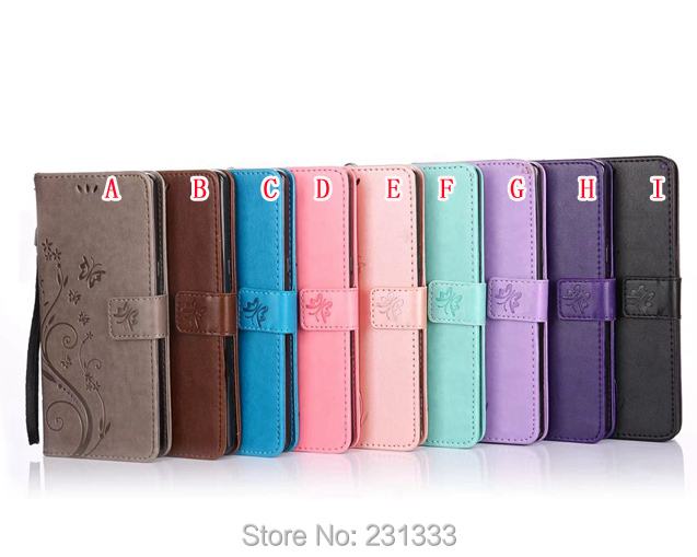 Flower Strap Flip Wallet PU Leather Pouch Case For Samsung Galaxy J3 2017 J330 Butterfly TPU ID Card Stand Money Cover Skin 1PCS