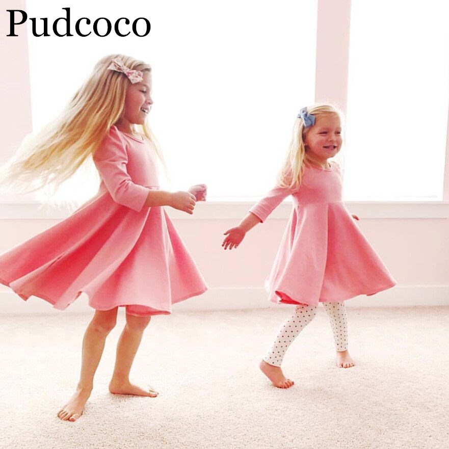 US $3 77 30% OFF|Pudcoco 2019 Brand New Toddler Kids Baby Girls Princess  Dress Pageant Party Wedding Tutu Dressy Clothes-in Dresses from Mother &  Kids