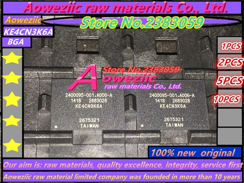 Aoweziic (1 PZ) (2 PZ) (5 PZ) (10 PZ) 100% Nuovo originale KE4CN3K6A BGA chip di Memoria