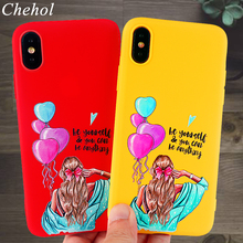 Classy Phone Cases for IPhone X XS MAX XR 8 7 6s Plus Case Beauty Paris Girl Soft Silicone Fitted Back Covers Accessories