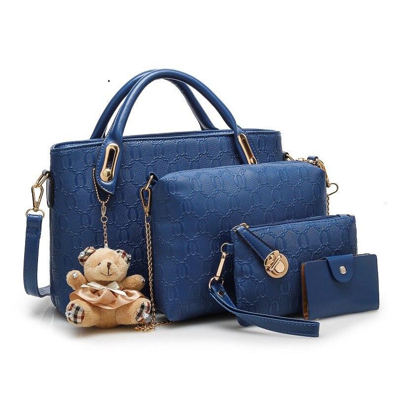 ახალი მოდის Crocodile Handbags PU - ჩანთები - ფოტო 4