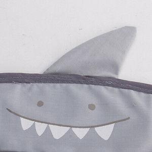 Image 4 - Dessin animé tenture murale sac de rangement sac tricoté bébé filet de bain jouet panier organisateur
