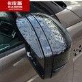 ABS Автомобилей Дождь Щит Заднего Вида Зеркала Дождь Бровь для Land Rover Discovery 4 2014 2015 2016 Автомобильные Аксессуары Для Укладки