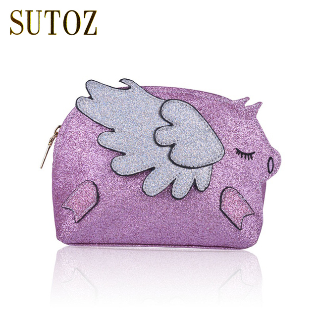 Fashion Glitters Piggy Wings Girl's Bags