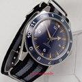 Знаменитые мужские стерильные синие оранжевые часы с циферблатом 41 мм  21 драгоценность  автоматические мужские часы miyota