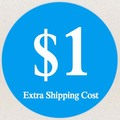 1 USD за Дополнительную стоимость доставки, стоимость доставки по быстрый способ доставки