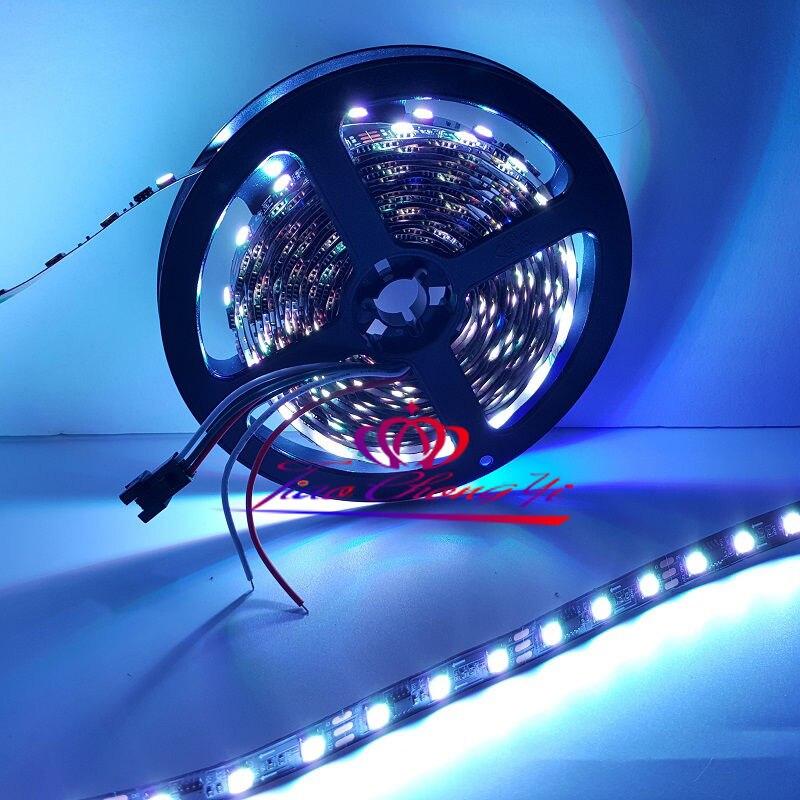Lumière adressable intelligente de bande de pixel de 5 M WS2813 DC5V 60Led/m + contrôleur SP105E - 4