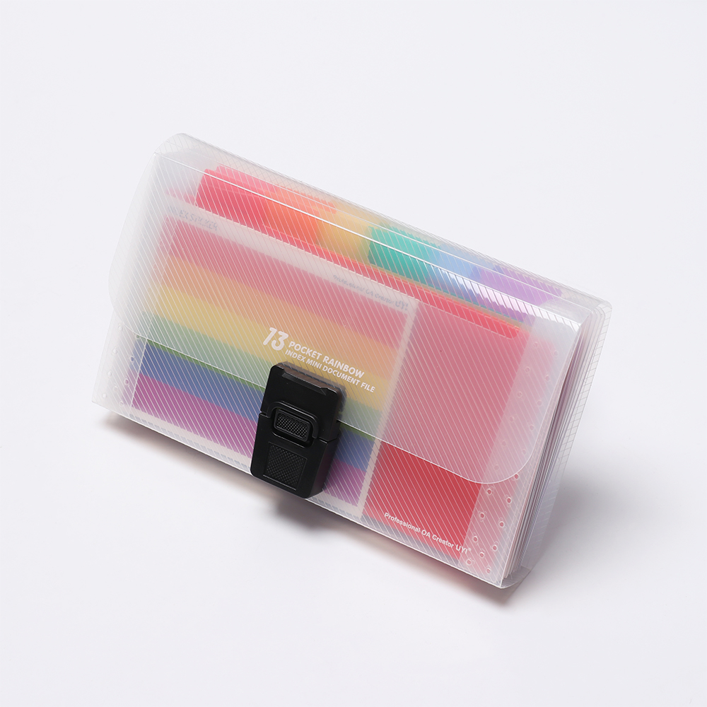 1× Expanding File Folder Organiser 12 Pockets A4 Holder Documents Wallet Office