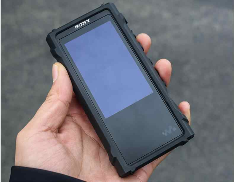 Voor SONY NW-ZX300 NW ZX300 ZX300A Robuuste Shockproof Armor Case Cover