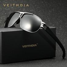 Veithdia hombres gafas de sol polarizadas lente gafas de sol del conductor masculino gafas accesorios para hombres gafas de sol masculino 8516