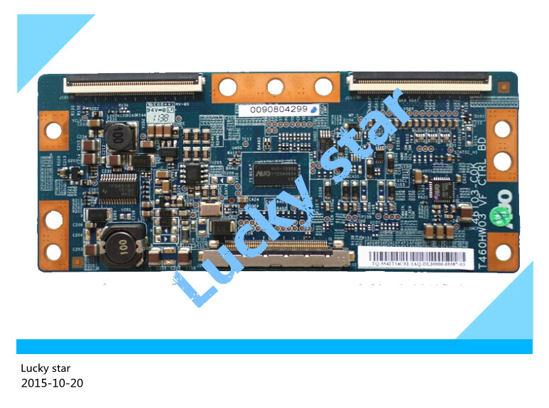 все цены на good working High-quality for original 98% new for board T460HW03 VF 46T03-COK 46T03-C0K T-con logic board онлайн