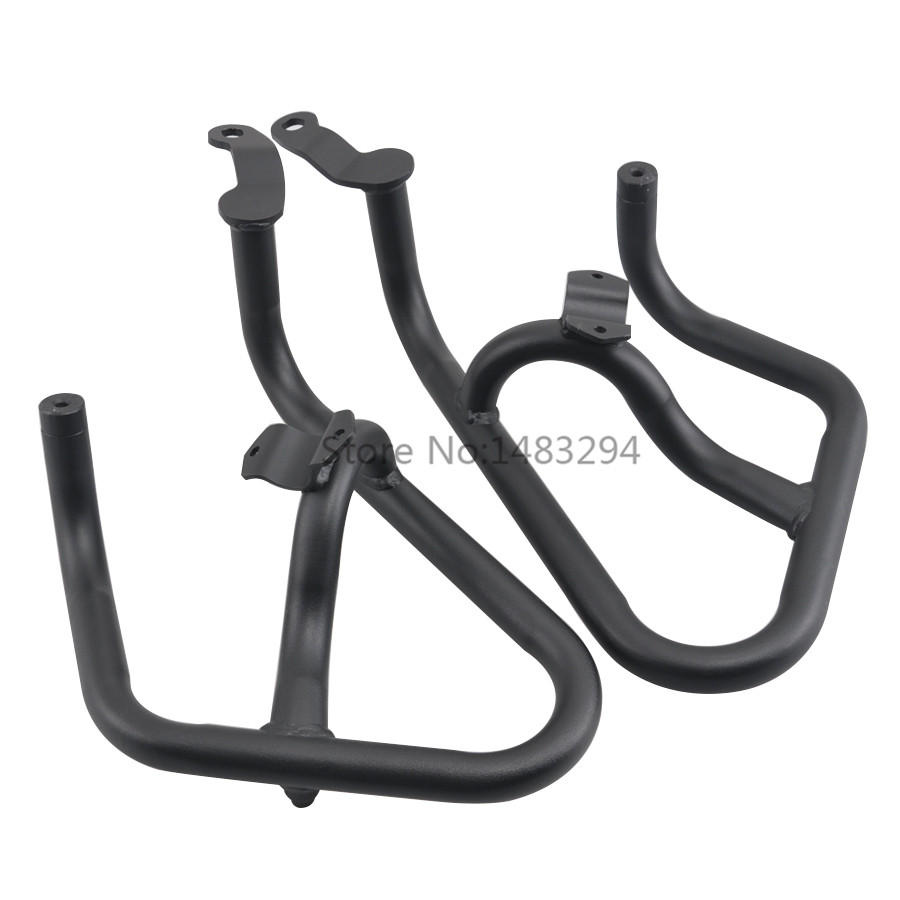 Engine Highway <font><b>Crash</b></font> <font><b>Bar</b></font> Guard Protector Bumper Protective frame For <font><b>Honda</b></font> NC750X NC750S <font><b>NC700X</b></font> NC700S 12-17 image