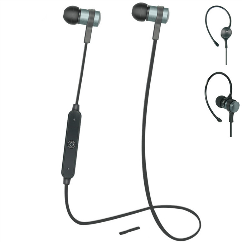 Sports Wireless Bluetooth Earphones Stereo Earbuds Headset Bass Headphones with Mic In-Ear for iPhone 6 Samsung Phone Xiaomi HTC