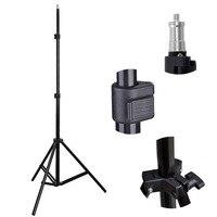 New 6 56 2m Light Stand Tripod Photo Studio Accessories For Softbox Photo Video Lighting Flashgun