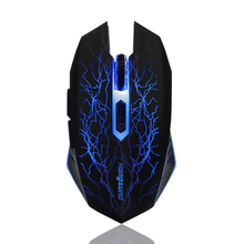 Wireless Gaming Mouse with Silent Buttons