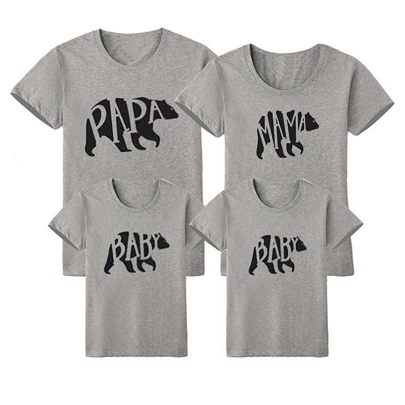Nova família correspondência roupas mãe me roupas, mãe bebê longa t camiseta mãe filha pai pai pai pai pai mãe roupas para mãe
