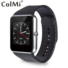 GT08 Smart Watch Sync Notifier Support Sim Card Bluetooth Connectivity Apple iPhone Android Phone Smartwatch Alloy Watch