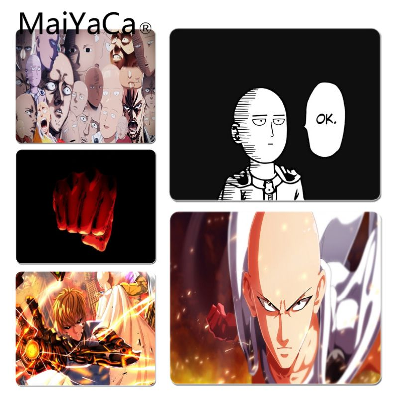 MaiYaCa New Design Anime One punch man  Customized laptop Gaming mouse pad Size for 18x22cm 20x25cm 25x29cm Game Mouse Pad