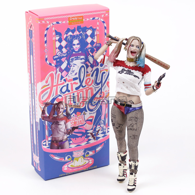 Crazy toys Suicide Squad Harley Quinn 1/6 Scale Collectible Figure Model Toy (Real Clothes) crazy toys batman 1 6th scale real clothes action figure collectible model toy 12 30cm retail box wu962
