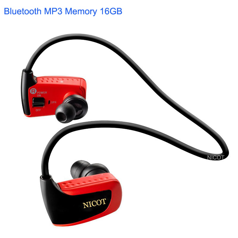 Brand New 16GB Bluetooth MP3 Player for Son Headset Sport NWZ W262 Plus 16G Wireless Earphones