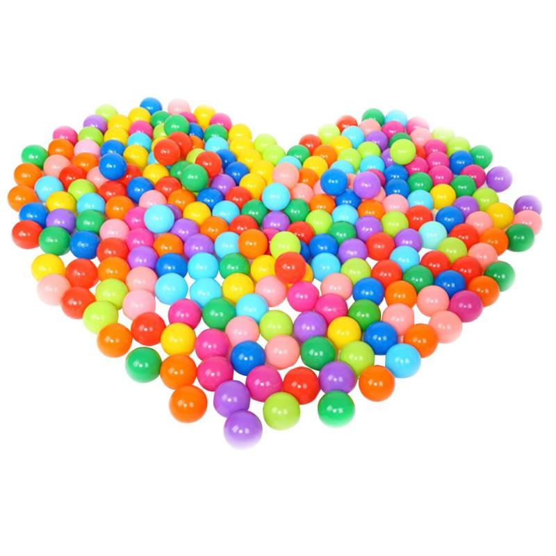 25/50/100pcs Eco-Friendly Colorful Plastic Soft Ocean Balls for The Pool Baby Swim Pit Ball Toy Outdoor Sports