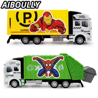 1 Pcs Set Star War Garbage Truck Transport Vehicle Funny Alloy Car Model Mini Diecast Delicate