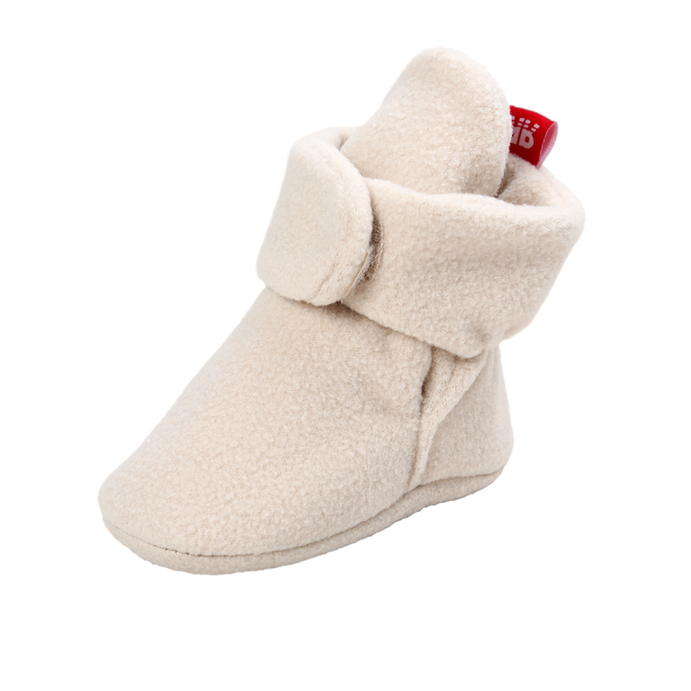 Delebao New Design Fashion Baby Boots Unique High Mid-Calf Winter Toddler (0-18 Months)