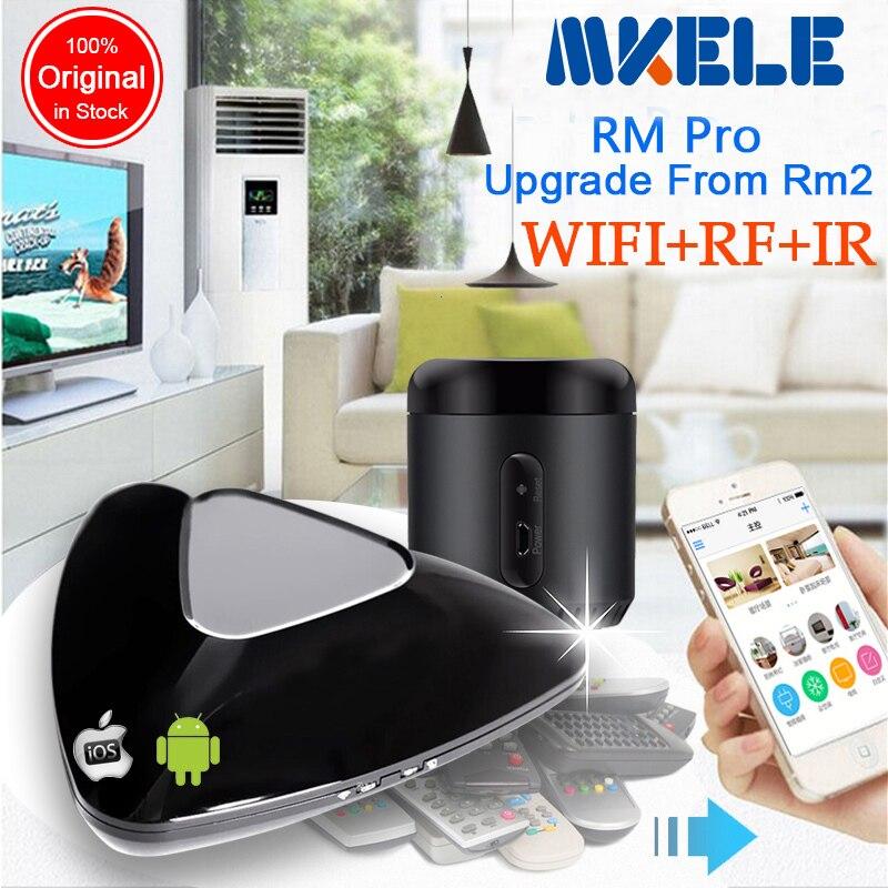 все цены на 2016 RM2 RM Pro RM Mini3,Smart home Automation WIFI+IR+RF Universal Intelligent remote controller for ios ipad Android онлайн