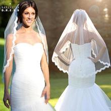 Romântico Branco Marfim Curto Casamento Veils com Pente Véu de Noiva véu de noiva longo Acessórios Do Casamento Decoração do casamento(China (Mainland))