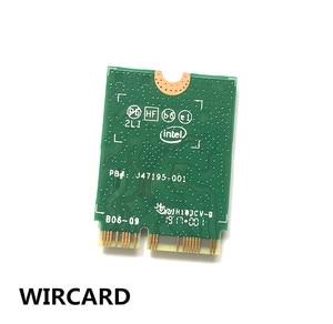 Image 4 - WIRCARD Dual Band Wireless AC 9560 עבור אינטל 9560NGW 802.11ac NGFF מפתח E 2.4G/5G 2x2 WiFi כרטיס Bluetooth 5.0