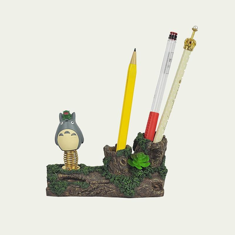 My Neighbor Totoro Pencil Holder Anime Miyazaki Hayao Totoro Colophony Crafts Tonari No  ...
