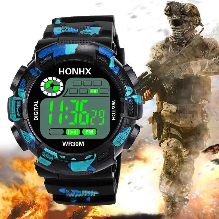 Camouflage Military Army Digital-watch Men's G Style Fashion Sports Shock Watch LED Electronic Wrist Watches for Men