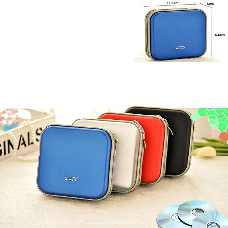 Ymjywl cd caso de alta qualidade à prova dwaterproof água compressão pacote cd 40 capacidade disco para o escritório em casa e armazenamento do carro saco cd