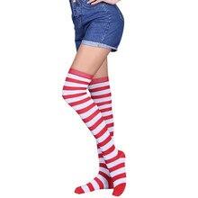Фотография ChanmsGend Women Sexy Thigh High Over The Knee Socks Long Stockings Dropship 171212