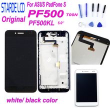 For ASUS PadFone S PF500KL LCD Touch Screen Digitizer Assembly 5.0'' for ASUS PF500KL Display PF500 PF-500KL T00N Screen + Tools цена в Москве и Питере