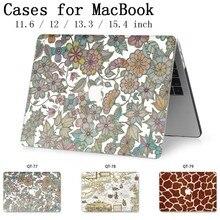 Новый для ноутбука ноутбук Горячая крышка корпуса MacBook сумки для планшета для MacBook Air Pro retina 11 12 13 15 13,3 15,4 дюймов Torba