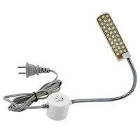 Coser 30 LED perlas de la lámpara ropa, costura máquina luz lámpara con luz de trabajo accesorios de la máquina de envío Super brillante