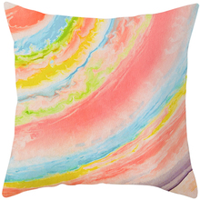 Dream color pillowcase for girls room decorative 45*45cm square shape beautiful and soft pillow cover