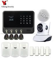 Yobang Security Wifi Casa Intelligente Sistema di Allarme di Indicazione Bassa della batteria GSM/SMS/GPRS Allarme APP telecomando Intelligente Home Security