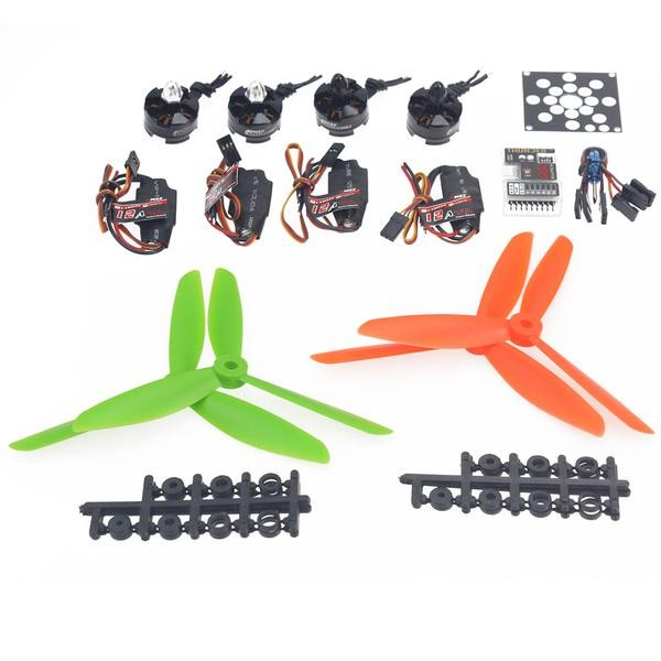 F12065-L Helicopter Kit KV2300 Brushless Motor+12A ESC+QQ Super Flight Control+FC6x4.5 Propeller for 250 Helicopter