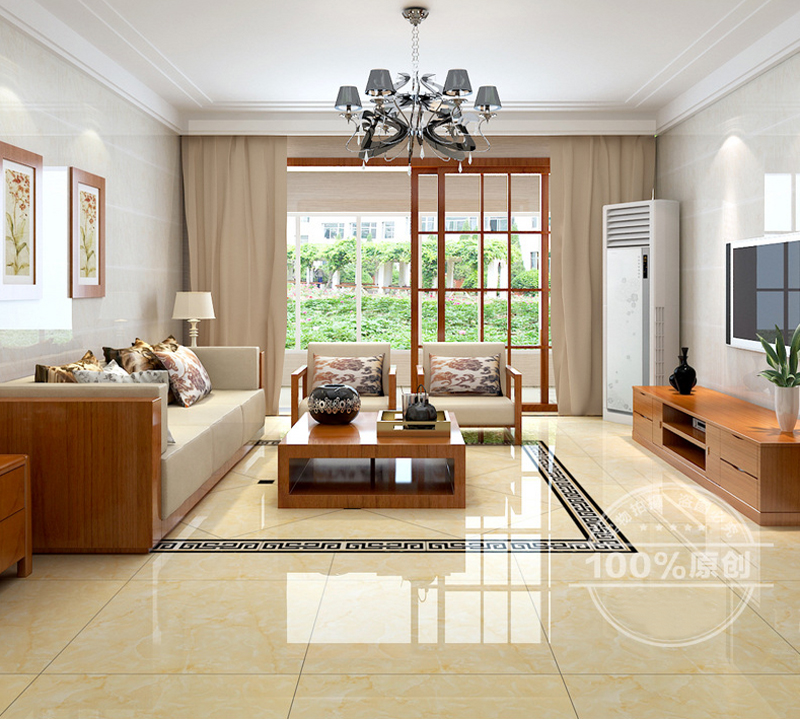 Subway Tile Living Room Interior: Foshan Ceramic Tiles 100m2 Golds Interior Floor Tiles 800