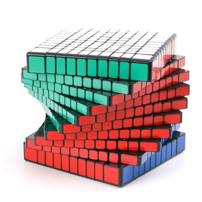 Shengshou 10x10x10 cube magique cube puzzle 10 couches cube magico cubo puzzle vitesse cadeau jouets éducatifs pour enfants jouet d'apprentissage